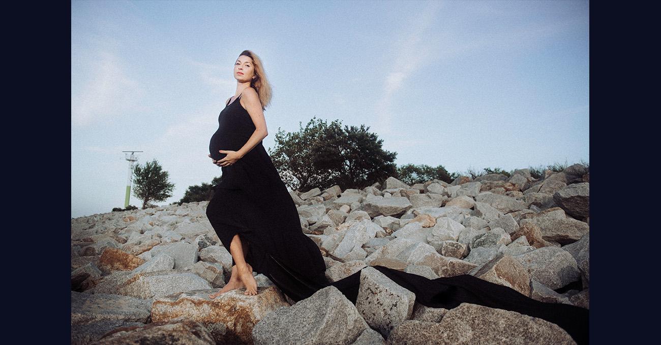 fotografia ciążowa gdańsk plener