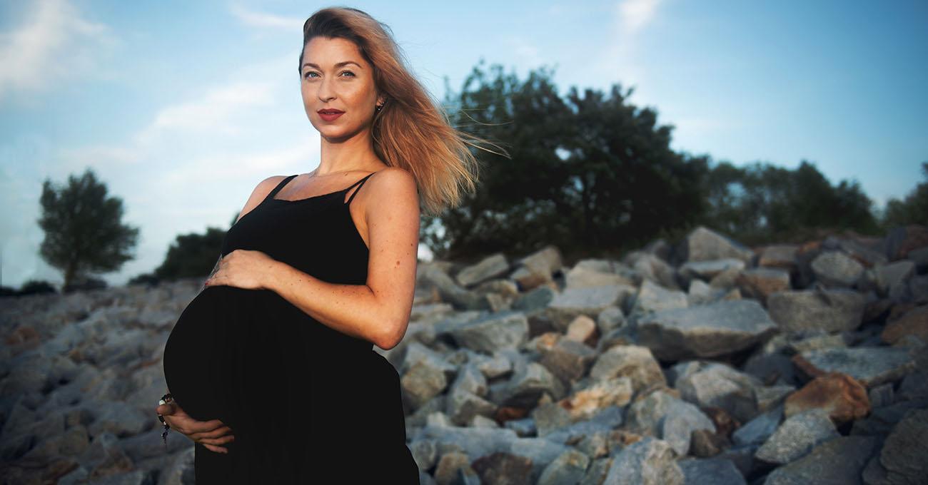 zdjęcia ciążowe w plenerze gdańsk