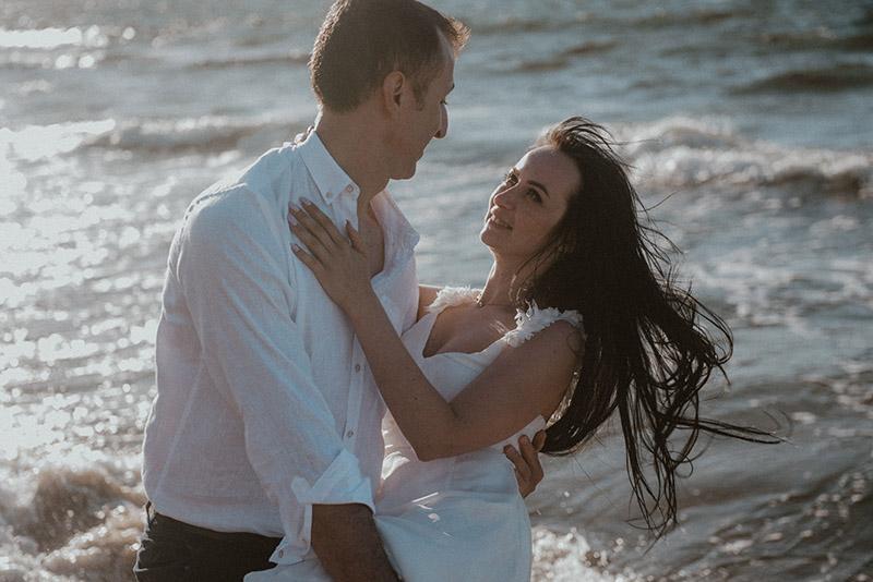 fotografia ślubna w plenerze Gdańsk