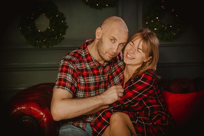 fotografia portretowa dla par w studiu Gdańsk