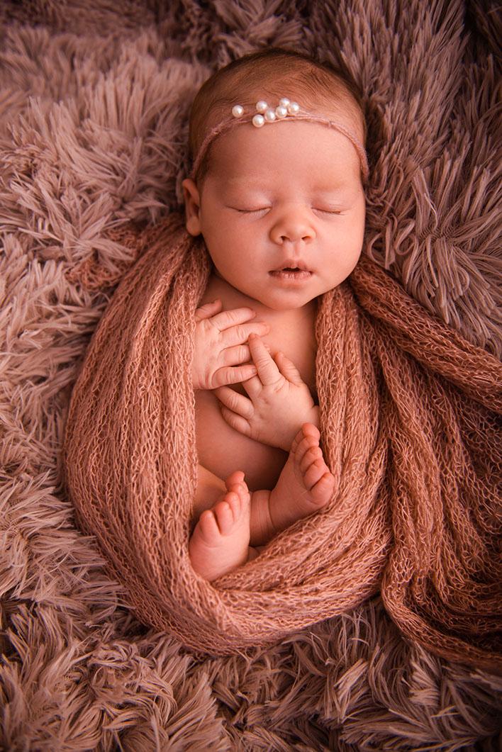 fotografia noworodkowa w domu Trójmiasto